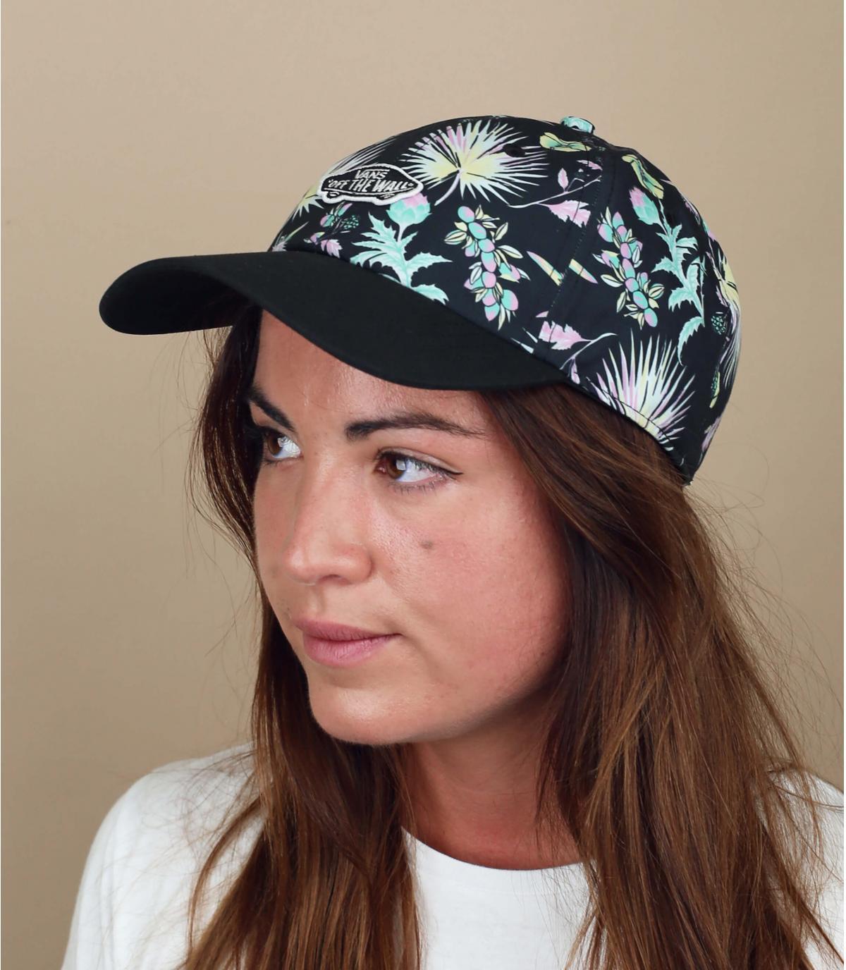 cappellino donna Vans stampato