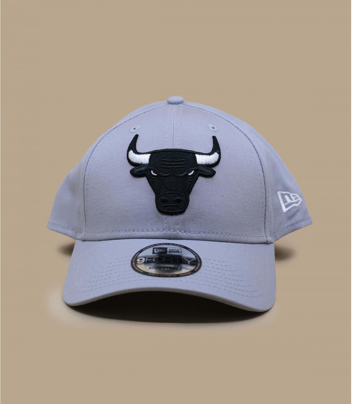 cappellino Bulls grigio