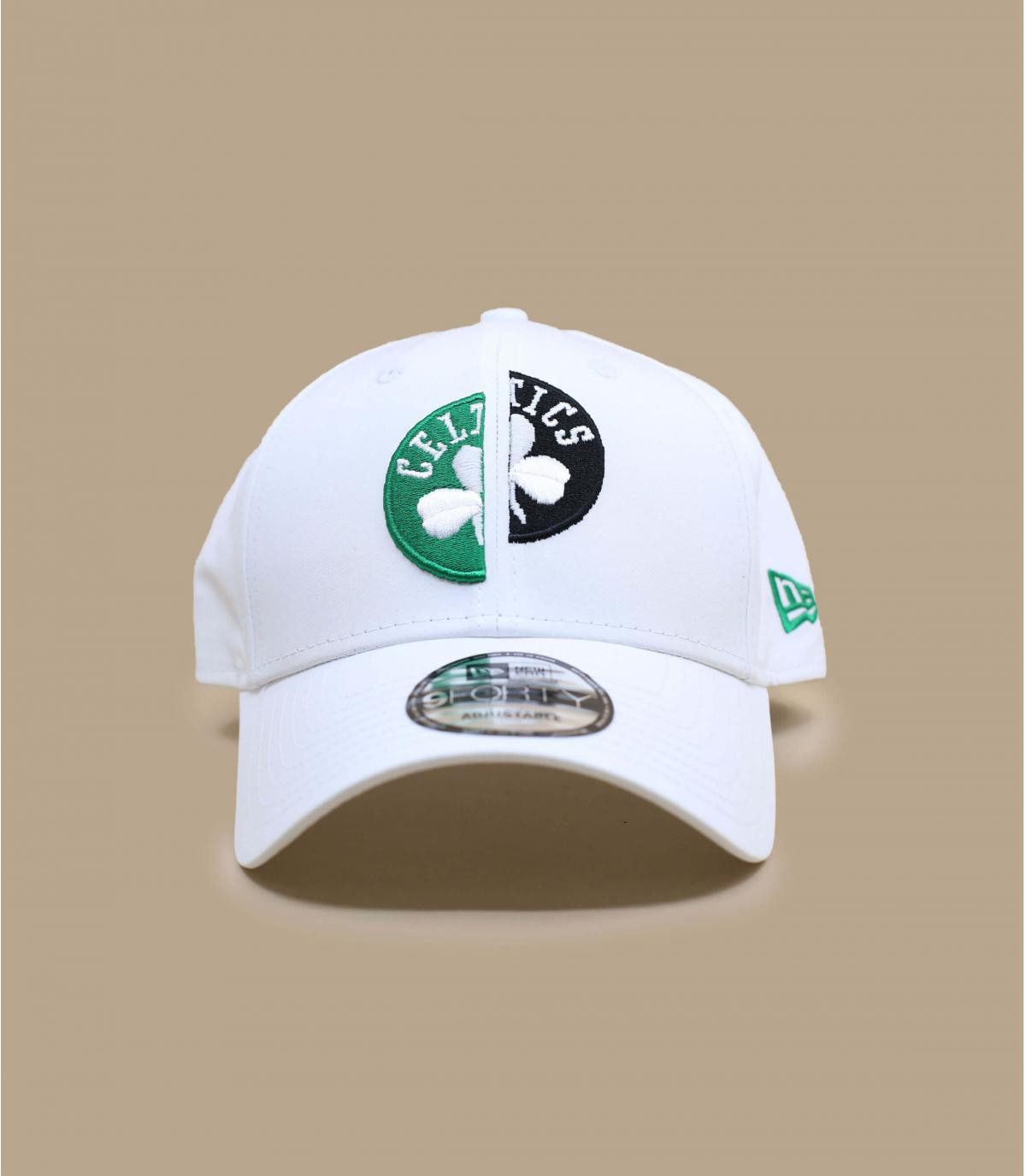 cappellino Celtics bianco