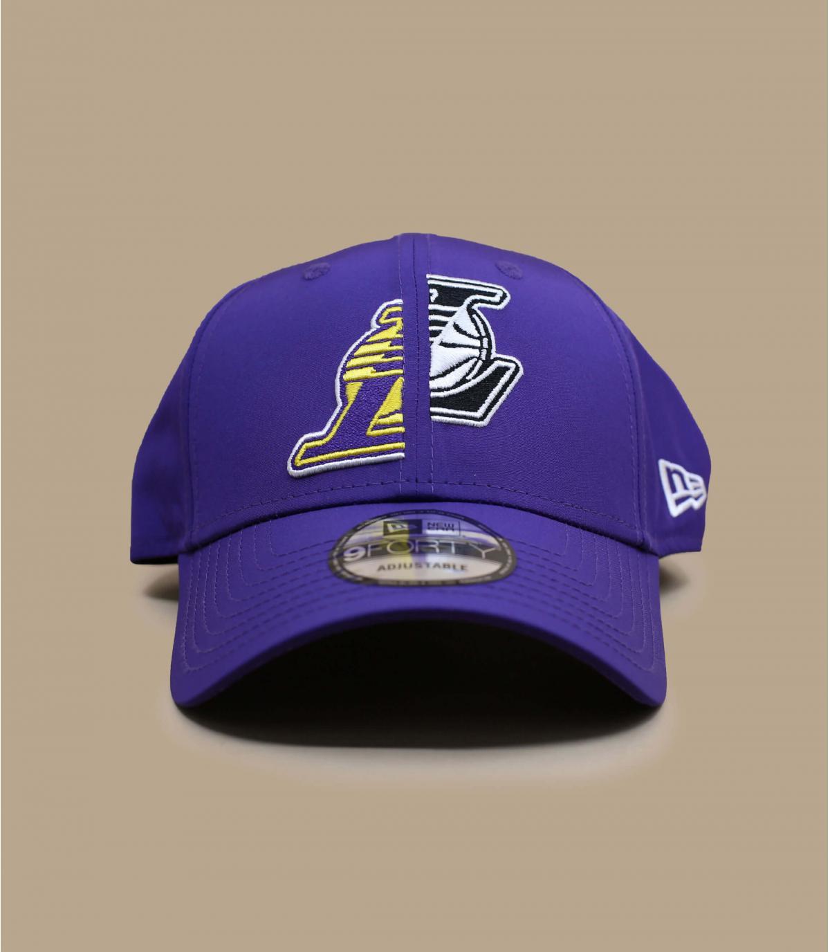 cappellino Lakers viola