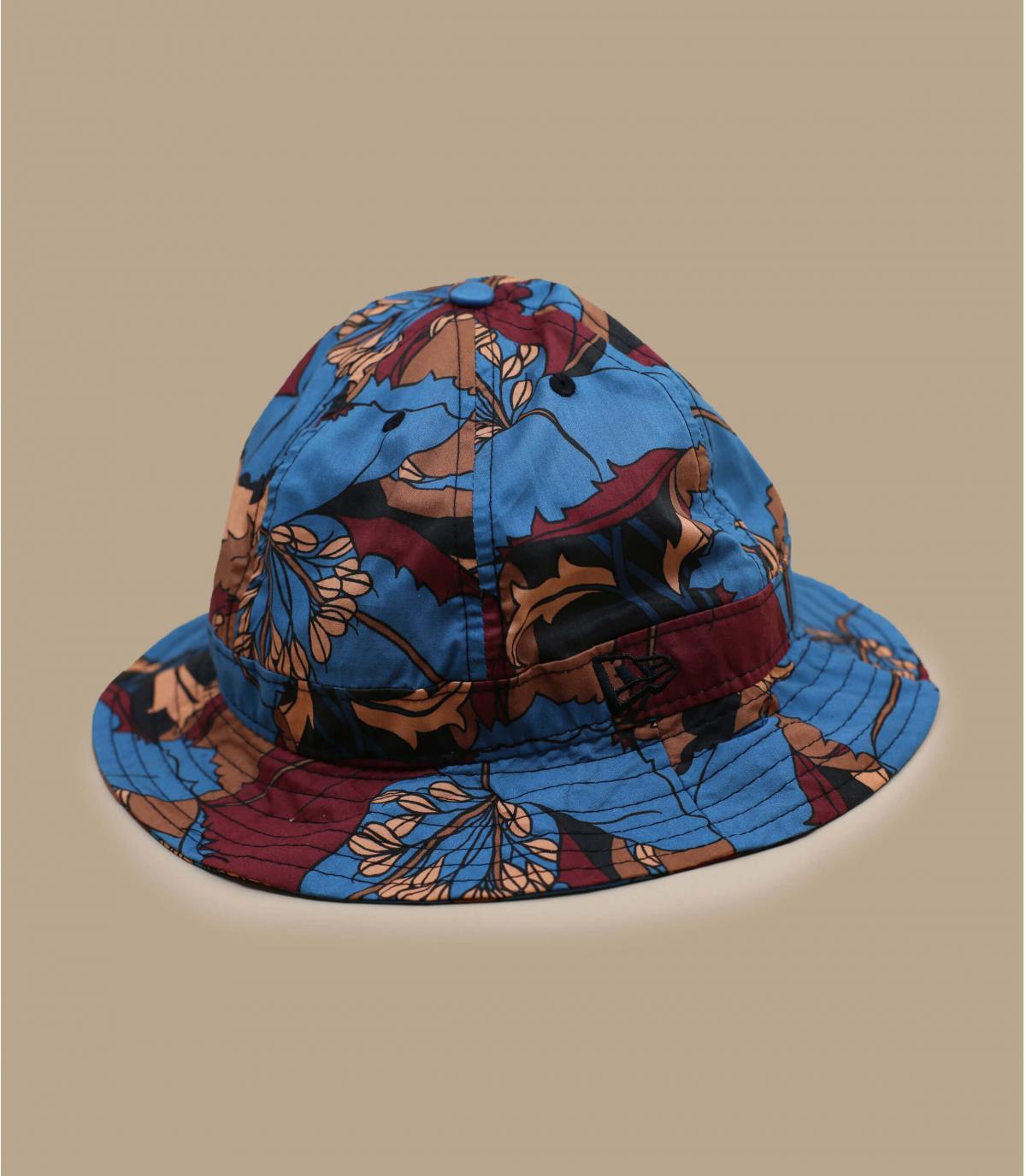 cappello da pescatore a fiori New Era