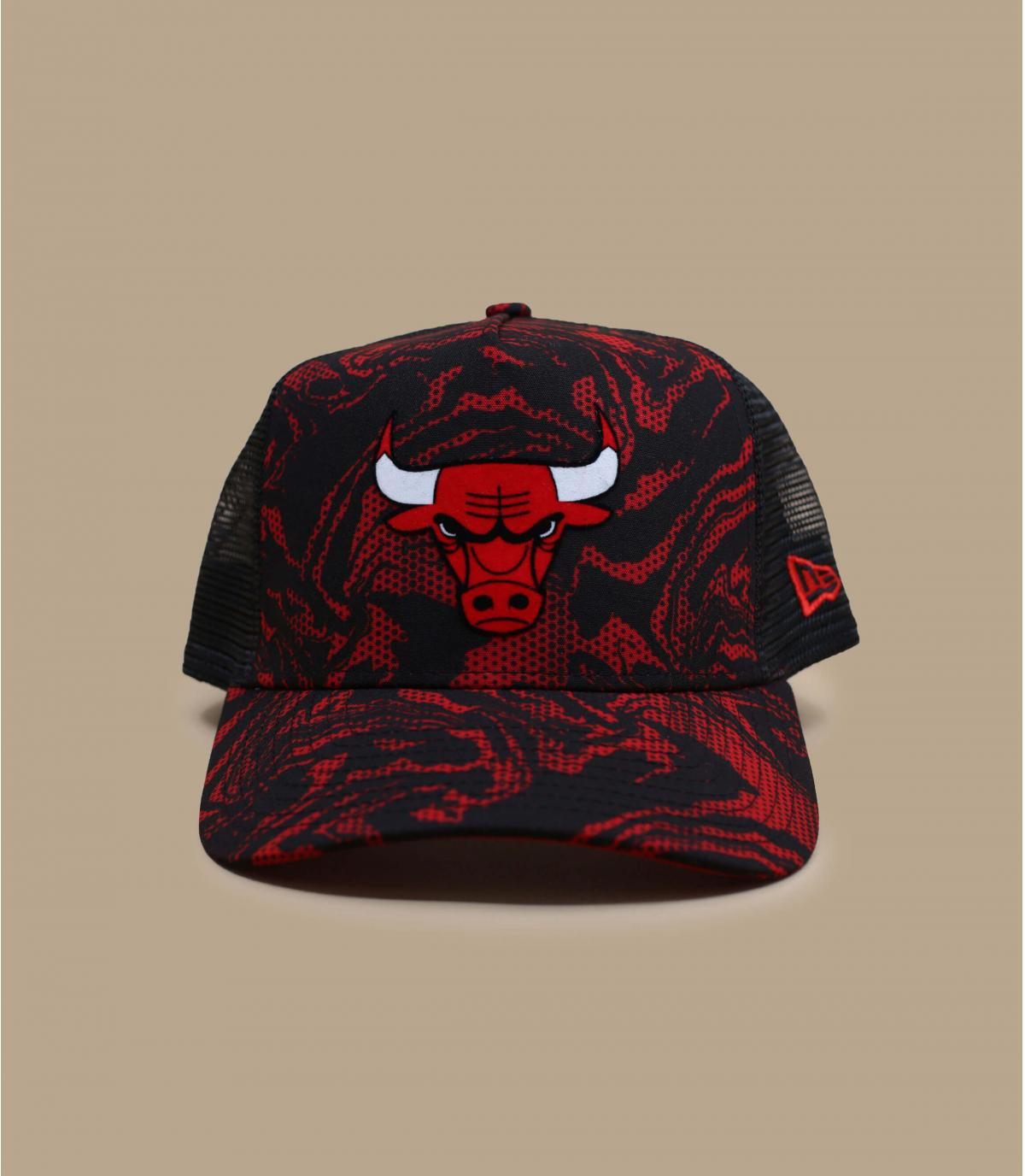 trucker mimetico Bulls