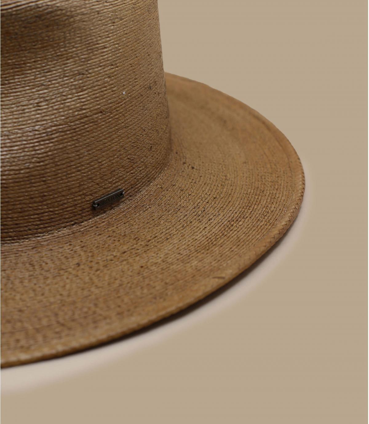 cappello paglia marrone Brixton