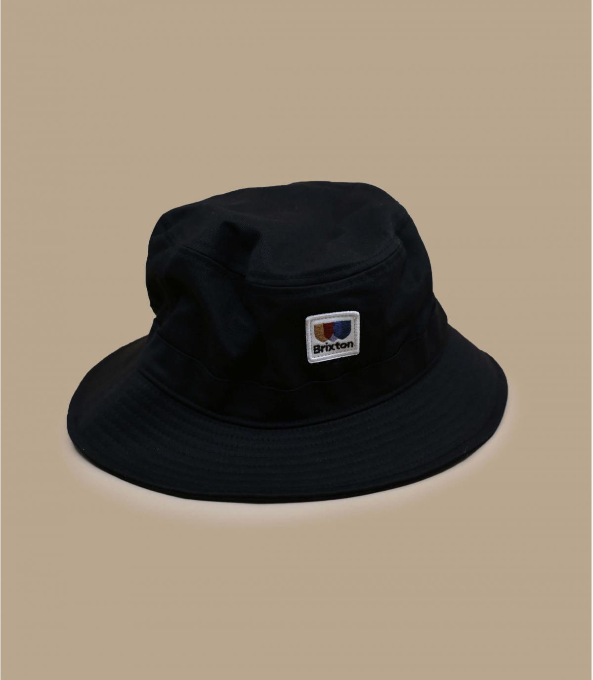 cappello pescatore nero Brixton