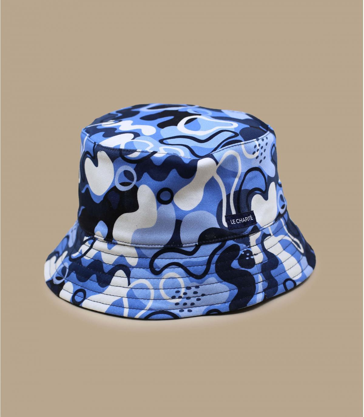 cappello da pescatore blu Le Chapoté