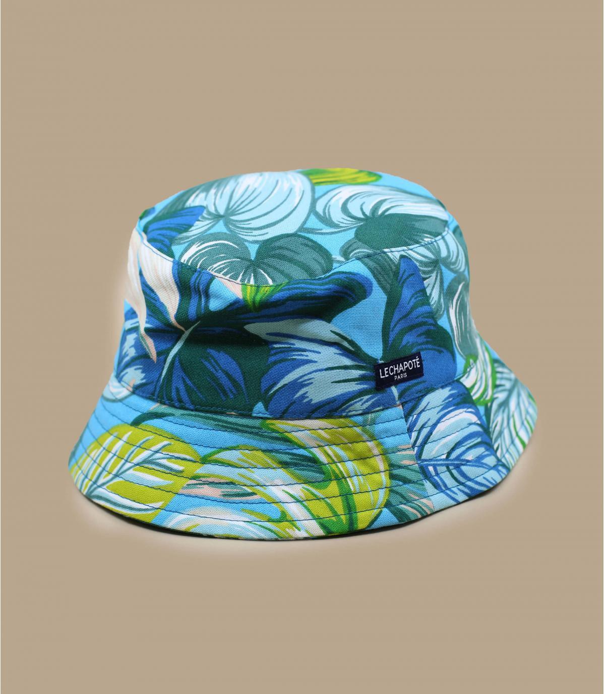 cappello da pescatore giungla verde