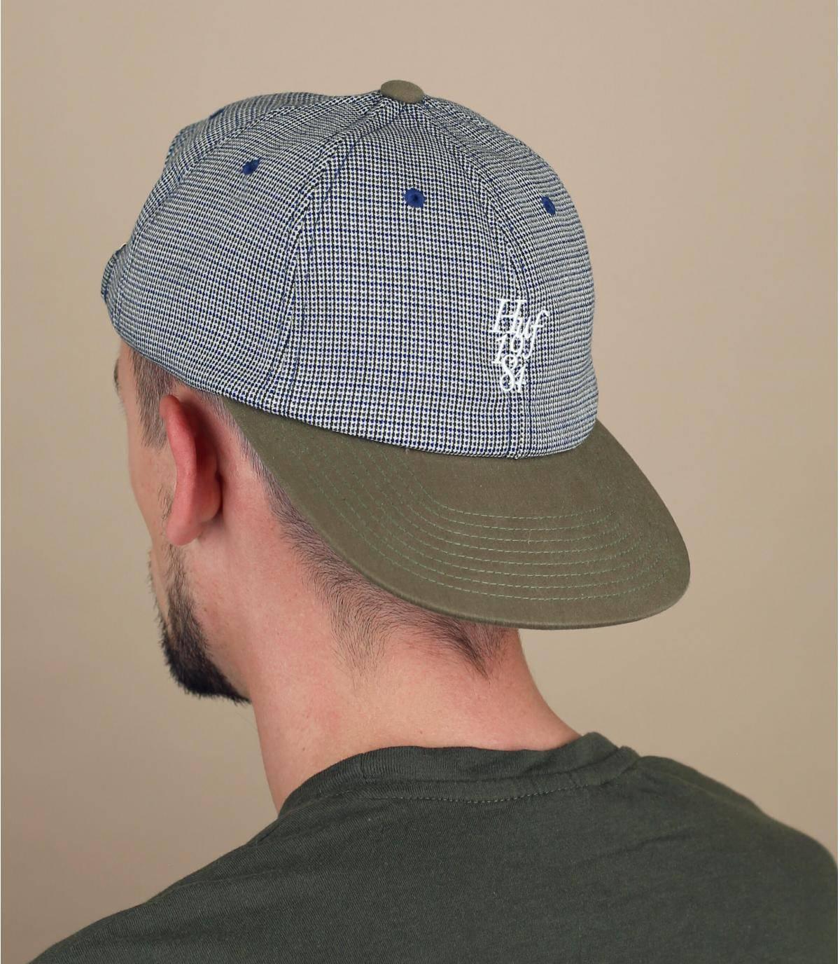cappellino Huf pied-de-poule