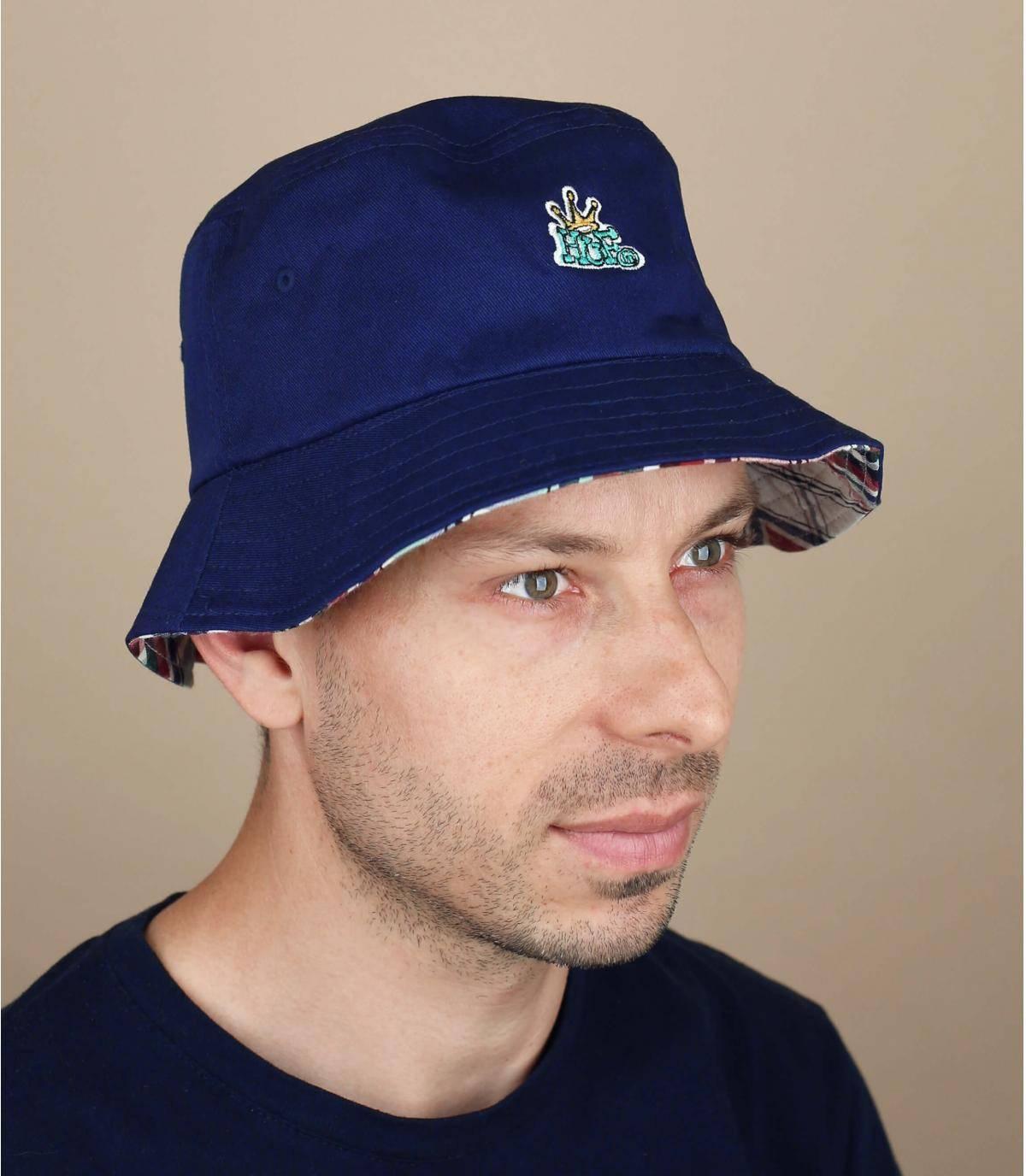 Cappello da pescatore Huf reversibile