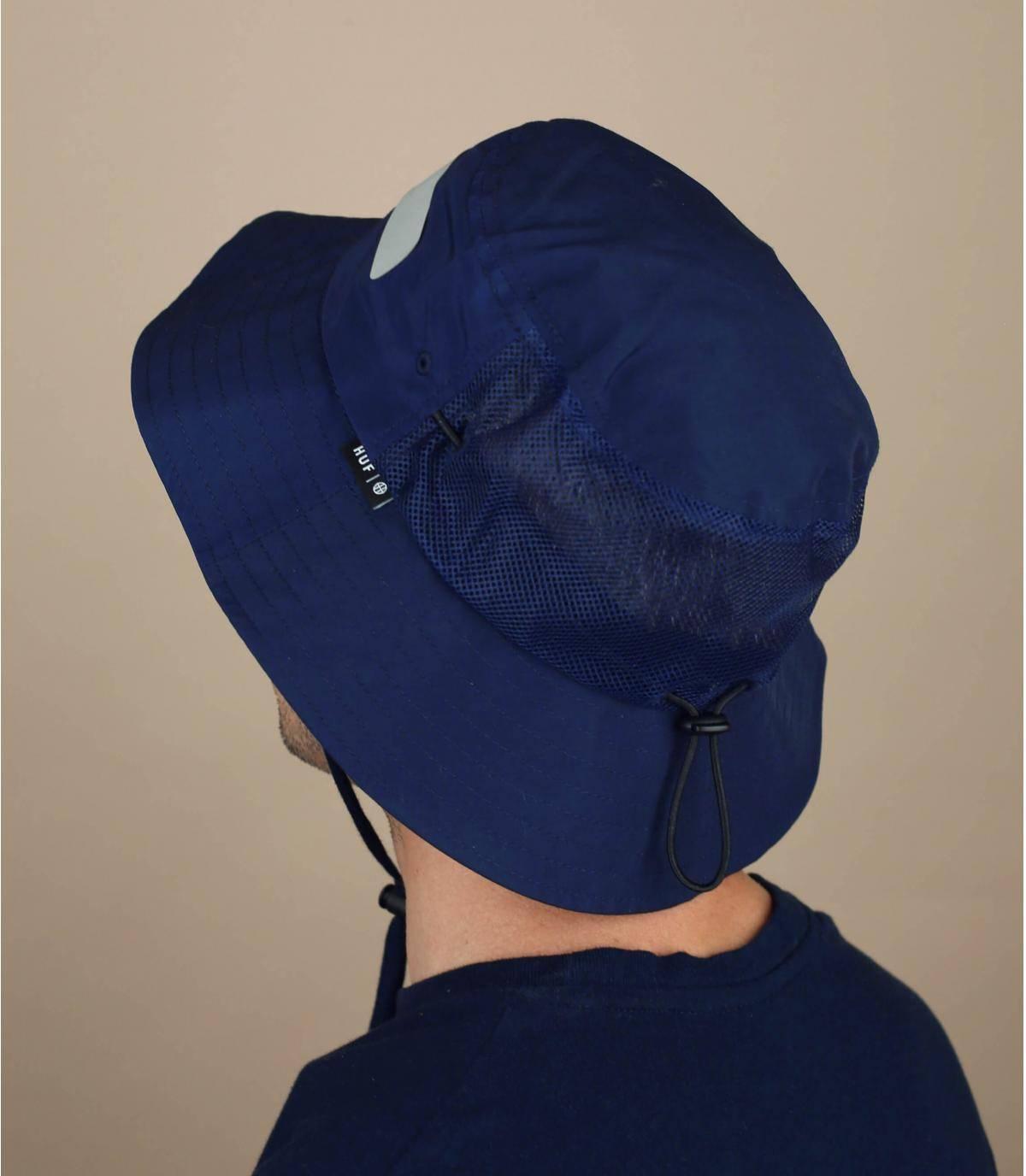 Cappello da pescatore Huf blu marine