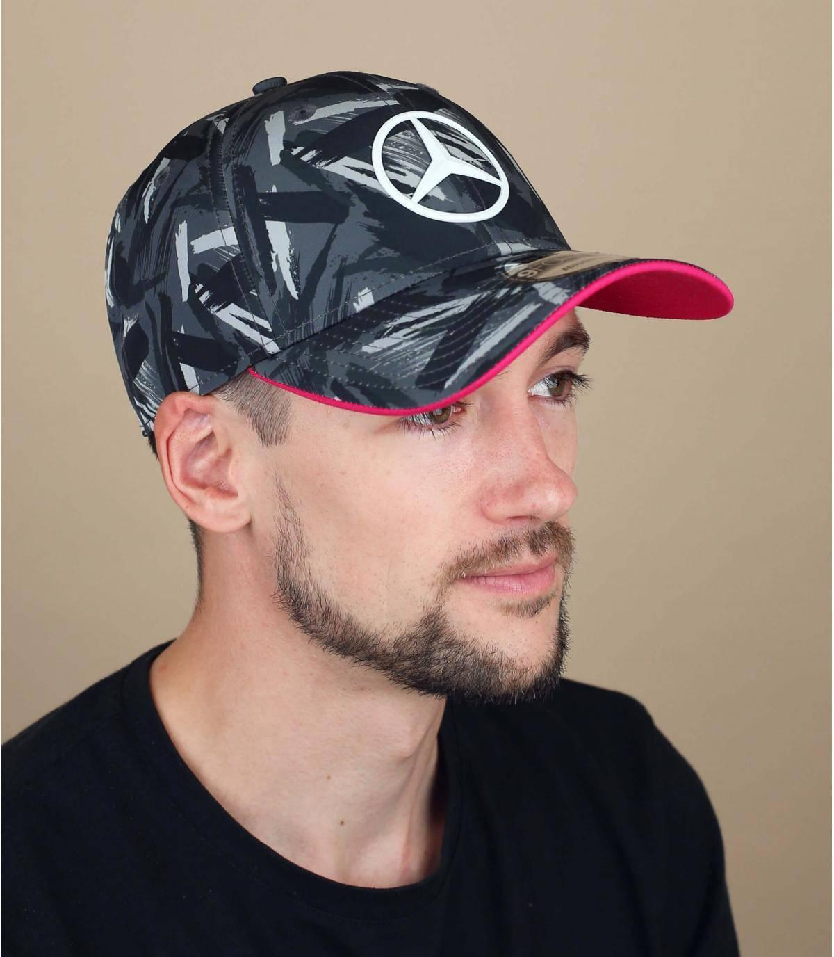 cappellino Mercedes stampato