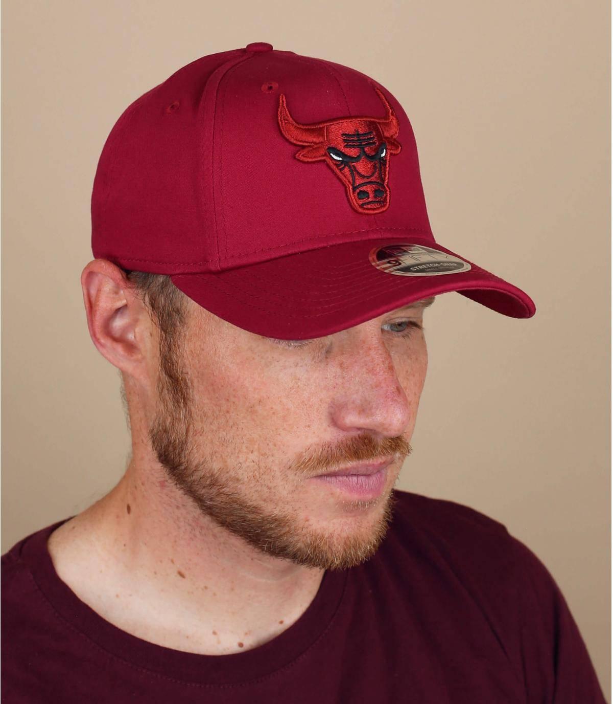 cappellino Bulls rosso