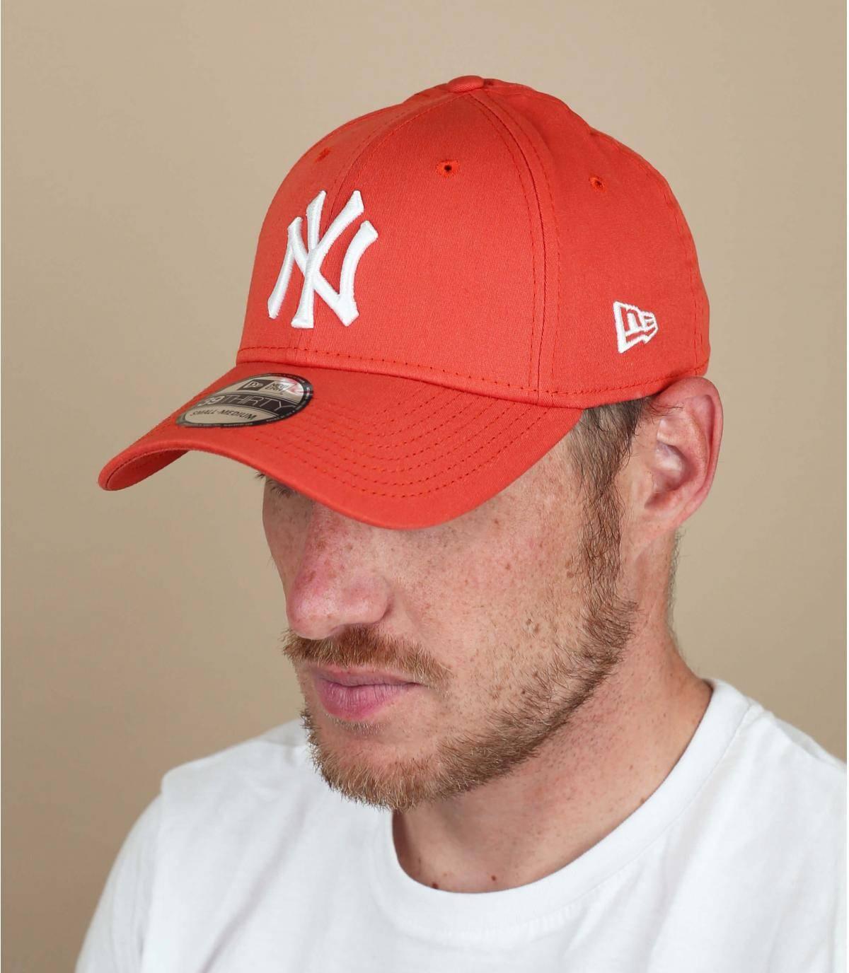 cappellino NY rosso