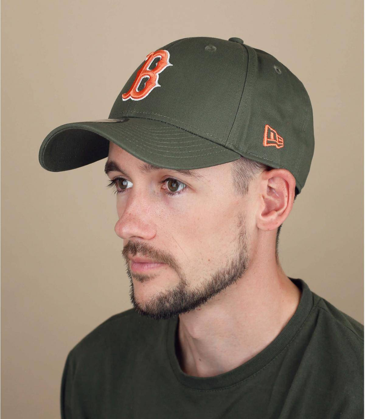 cappellino B verde