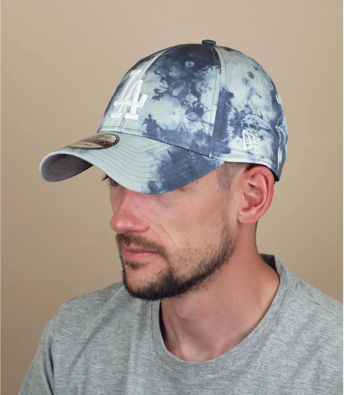 cappellino LA tie dye