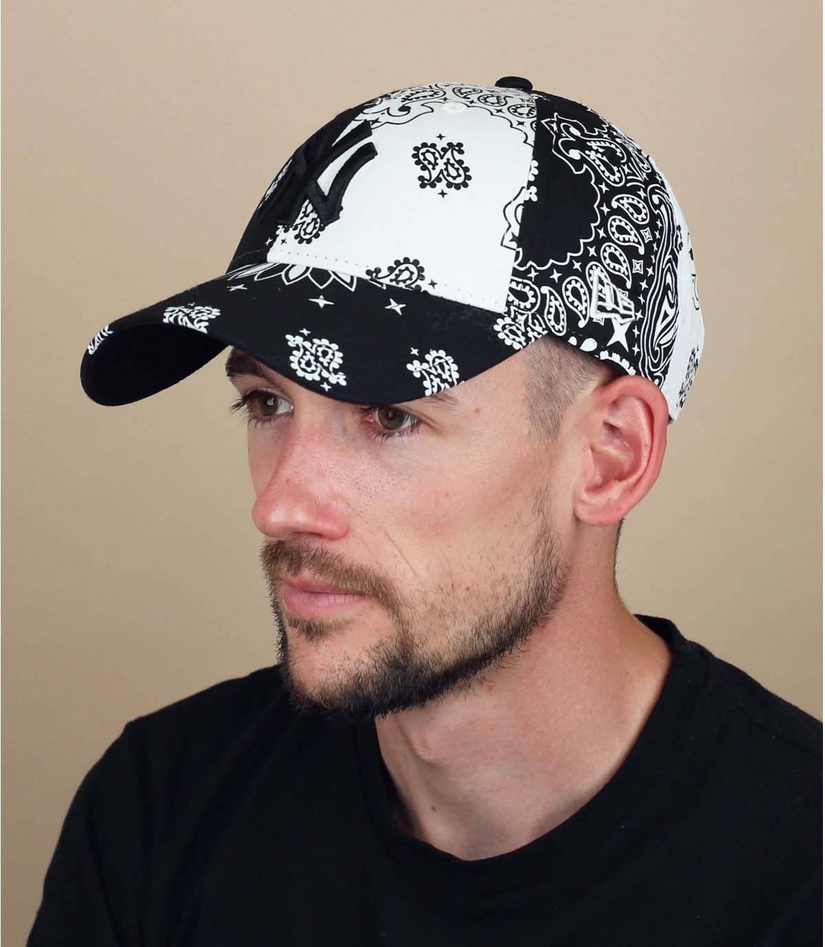 cappellino NY bandana