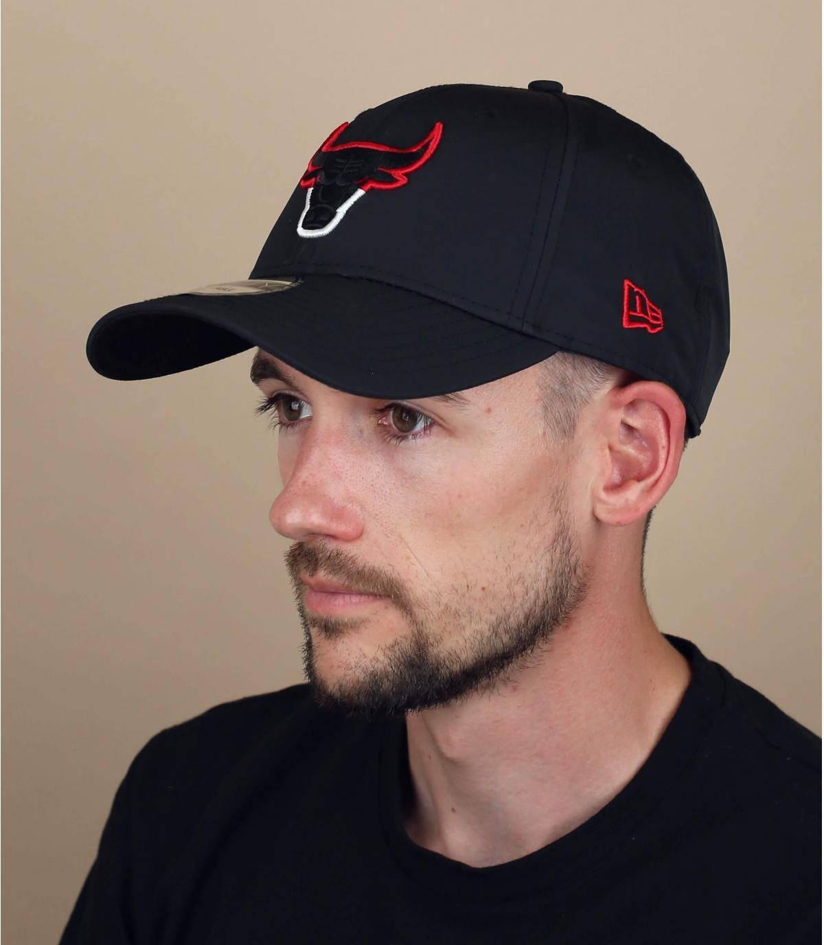 cappellino Bulls nero