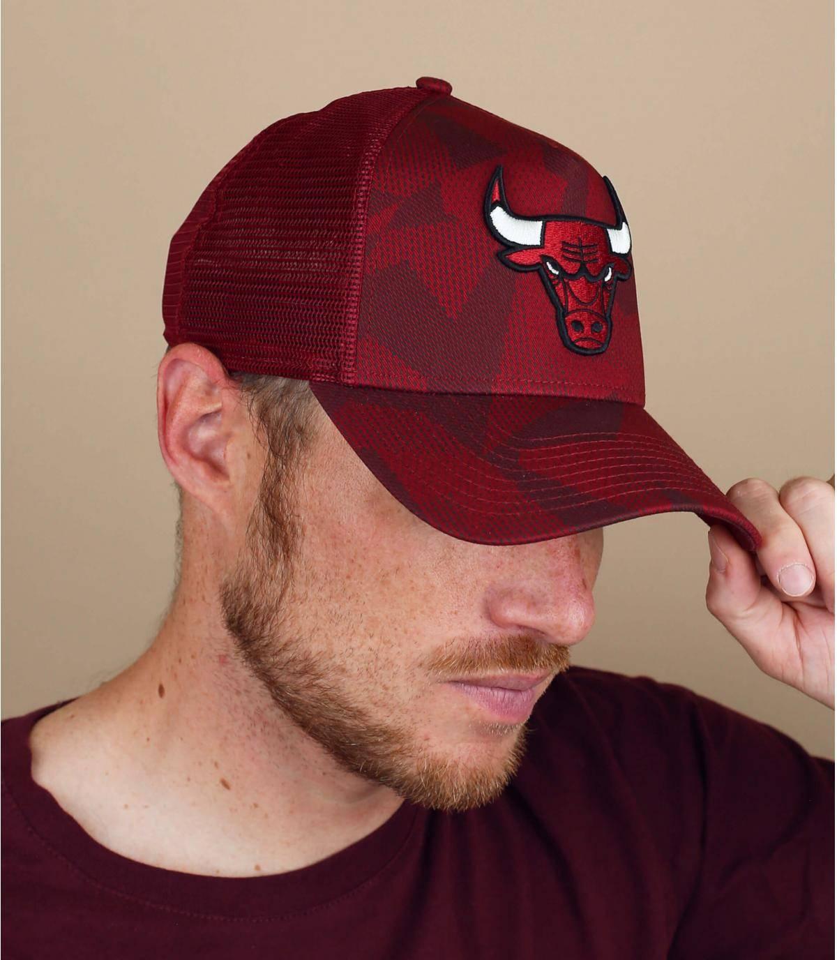 trucker Bulls rosso