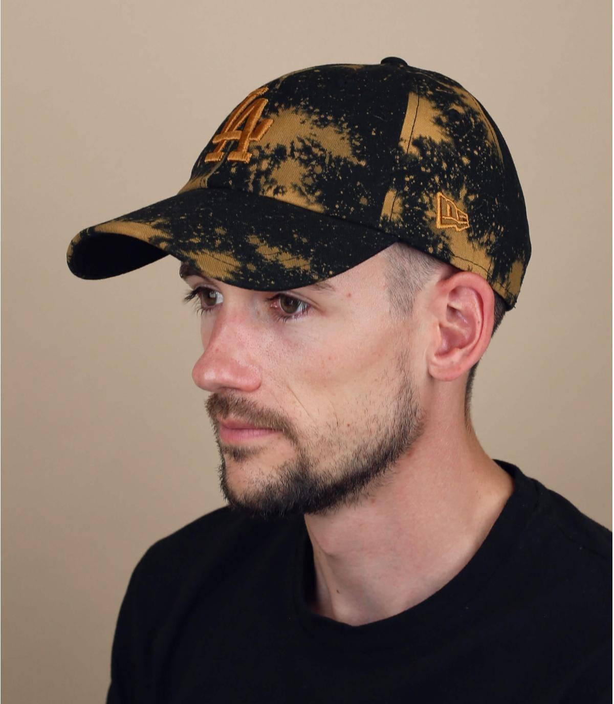 cappellino LA nero