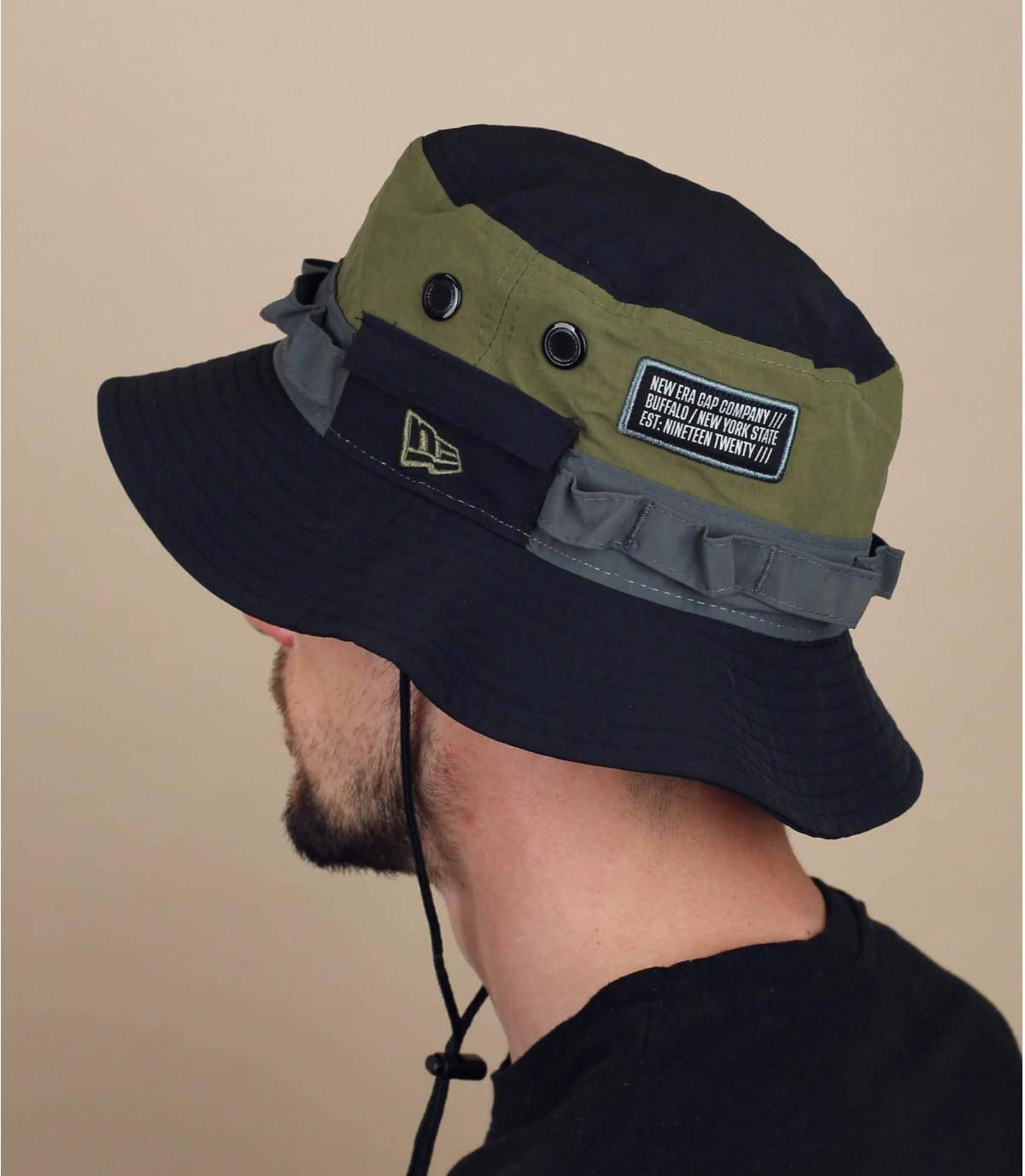 cappello da pescatore New Era nero