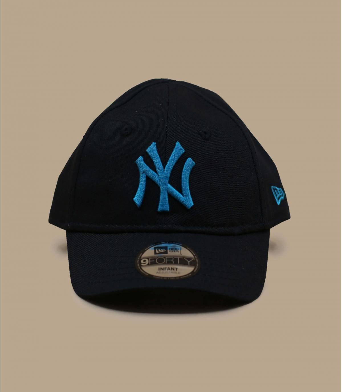 cappellino NY bébé nero