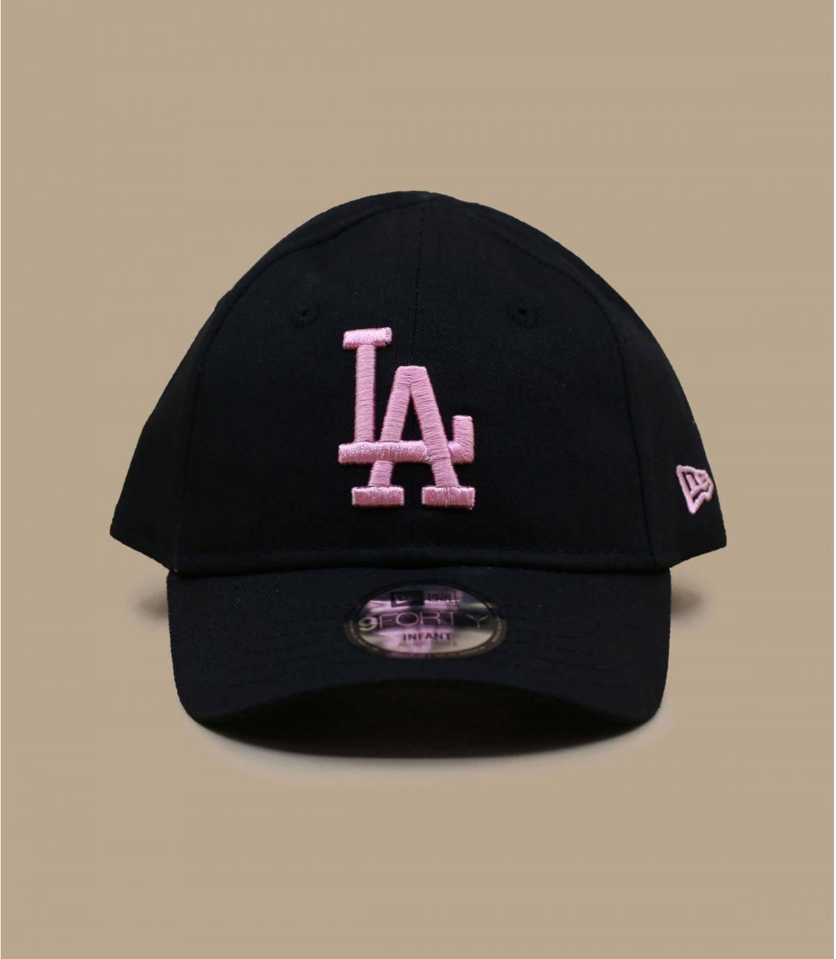cappellino neonato LA nero