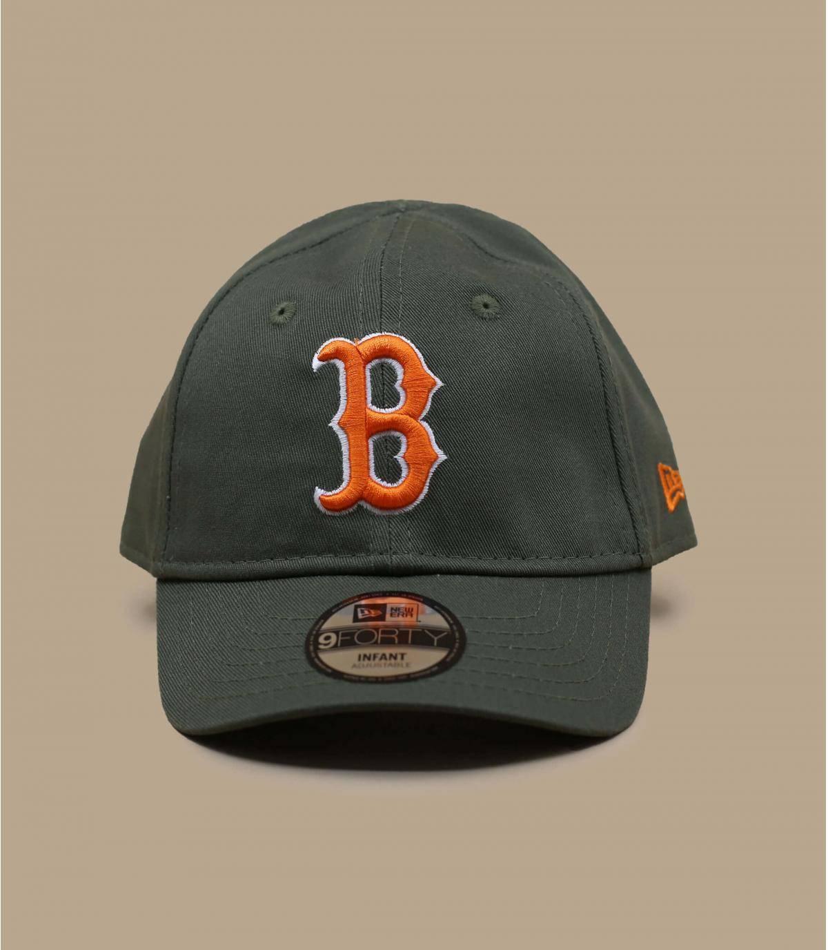cappellino neonato B verde