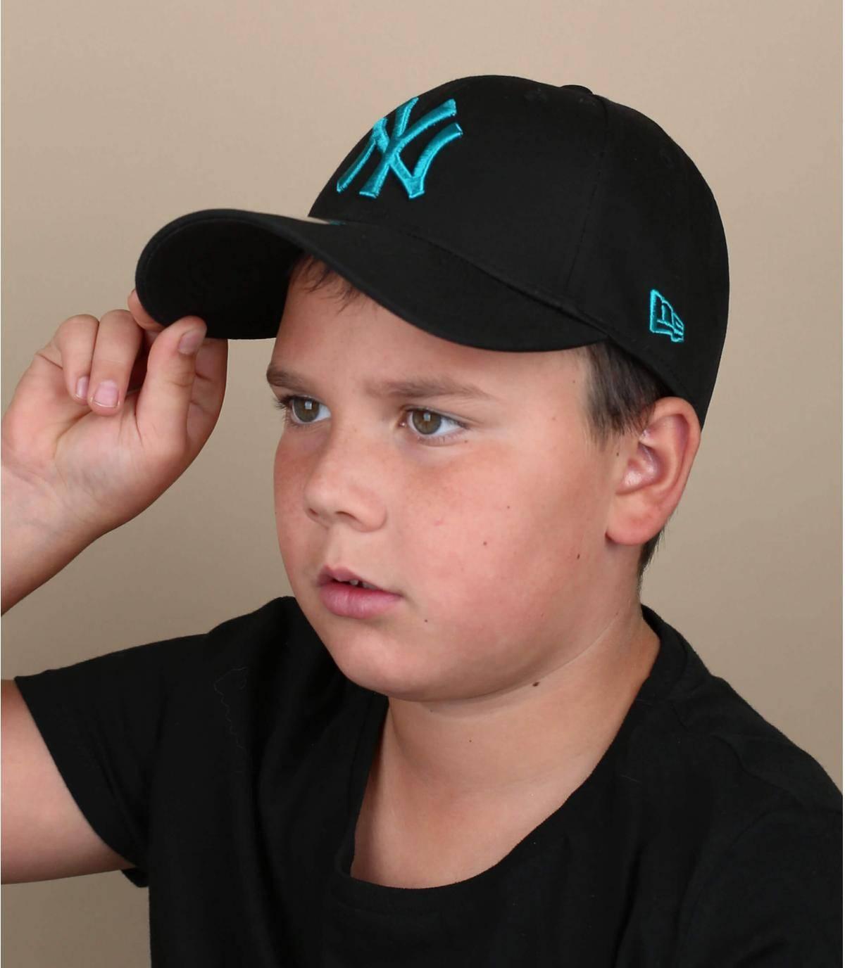 cappellino bambino LA nero