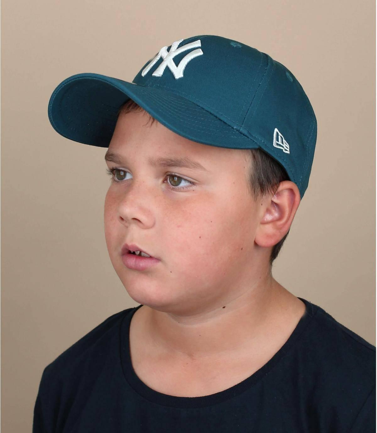 cappellino NY blu bambino