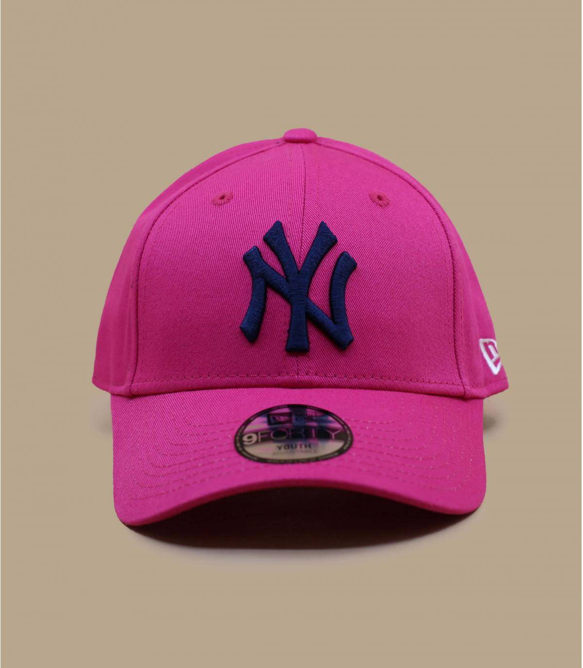 cappellino NY rosa bambino