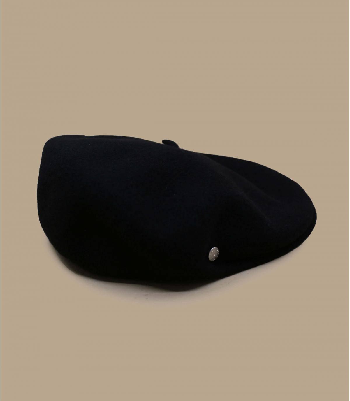 berretto nero lana