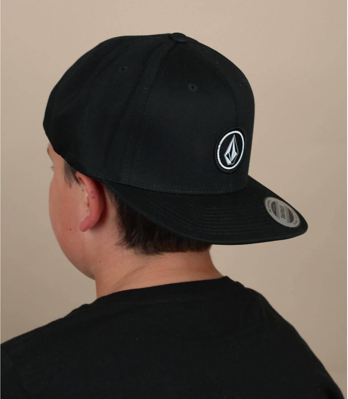 cappellino bambino Volcom nero