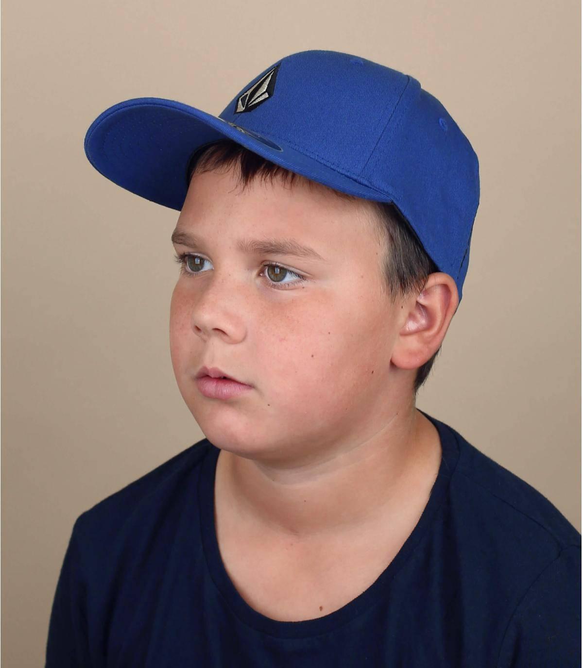 cappellino bambino Volcom blu