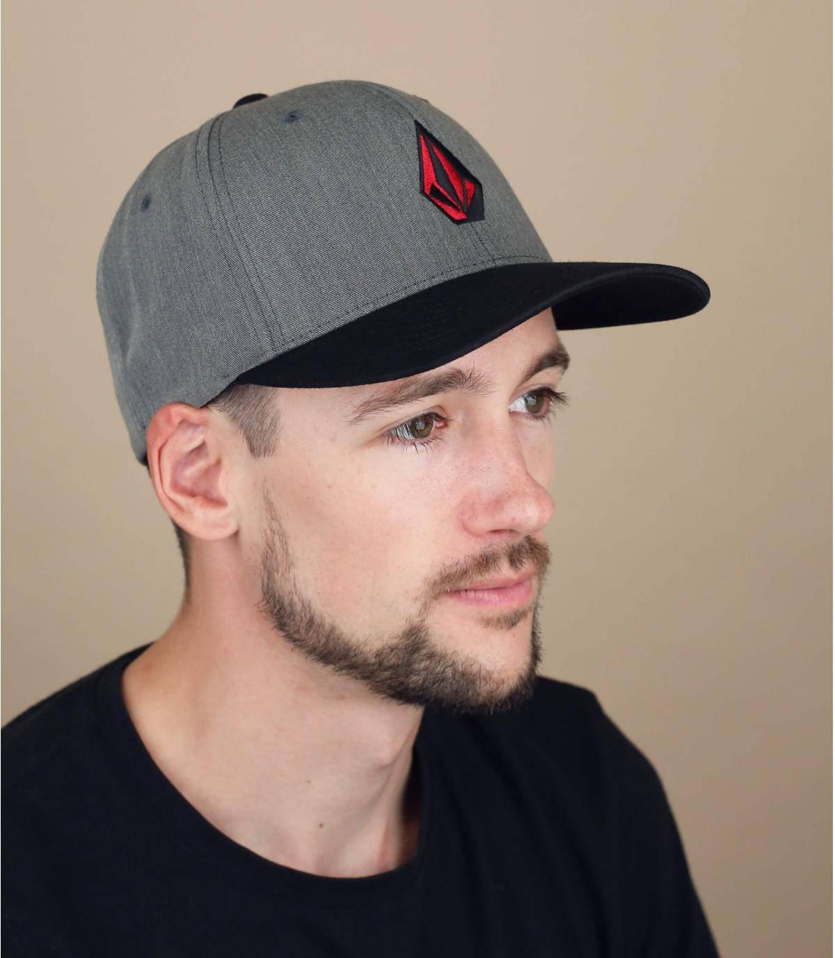 cappellino Volcom grigio