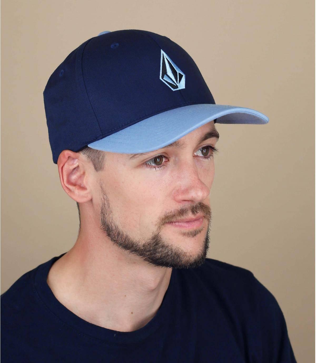 cappellino Volcom blu