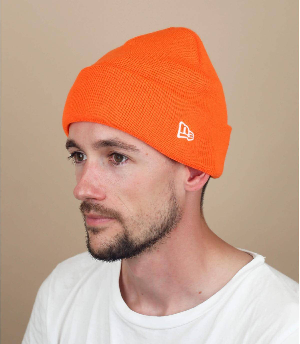 berretto New Era arancione