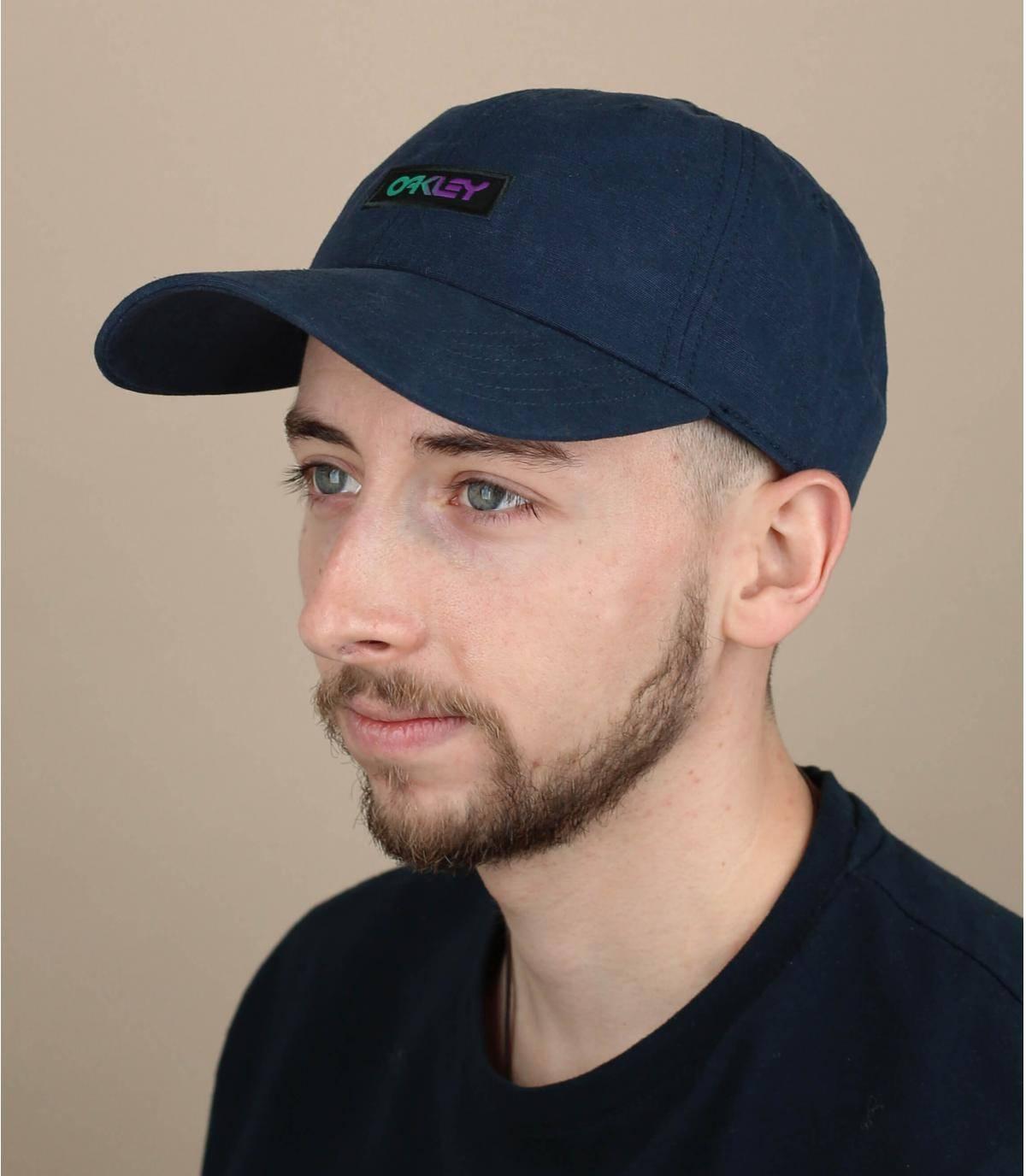 cappellino Oakley blu