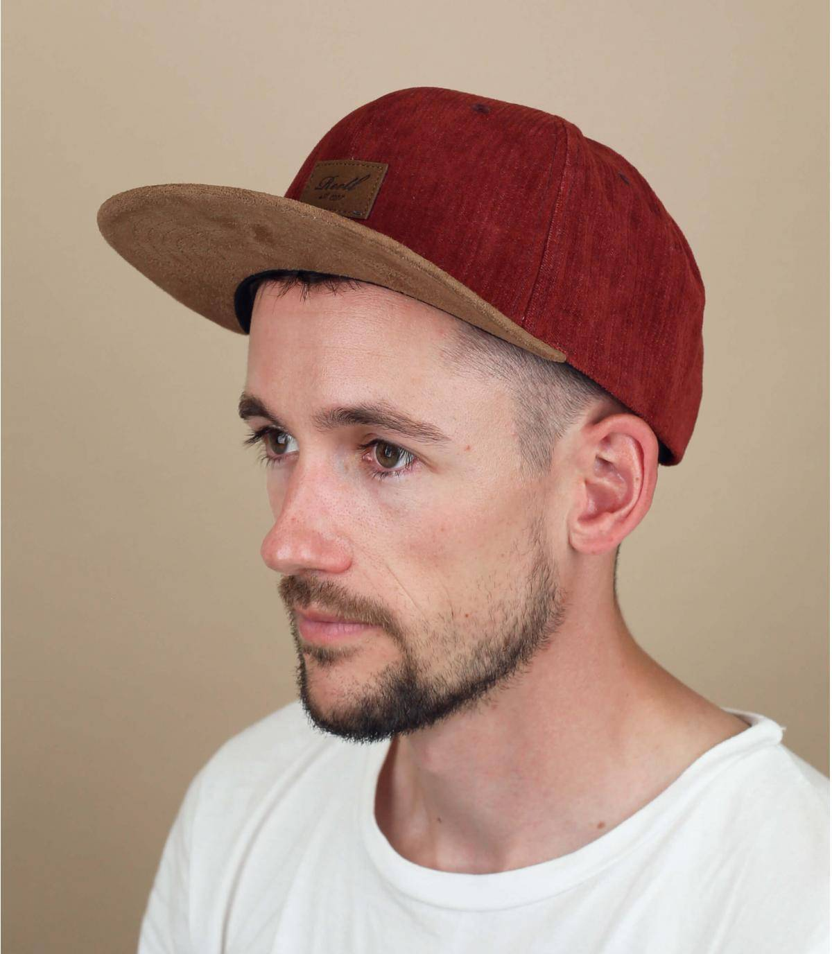 cappellino bordeaux Reell