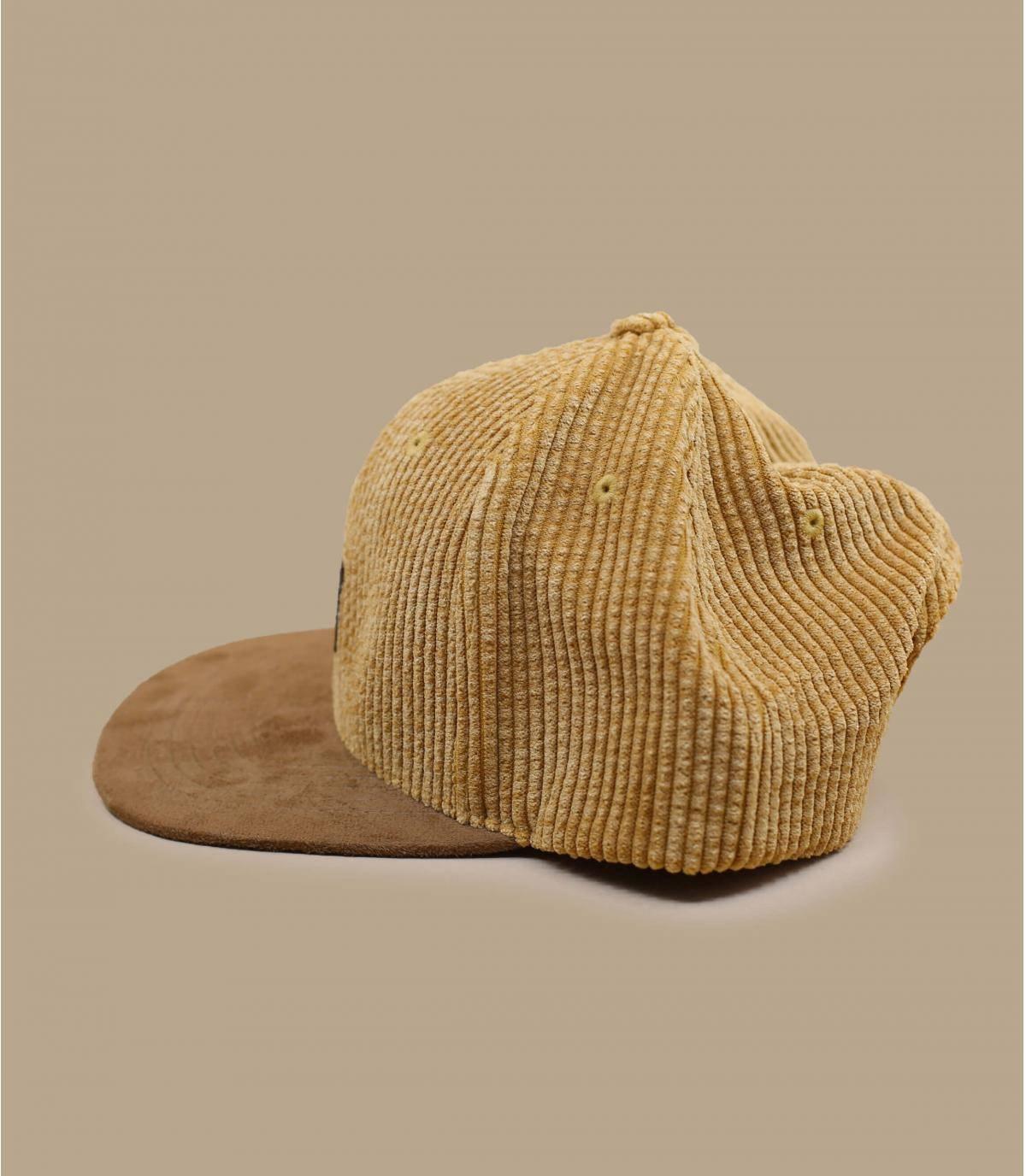 Dettagli Suede Cap Cord beige - image 3
