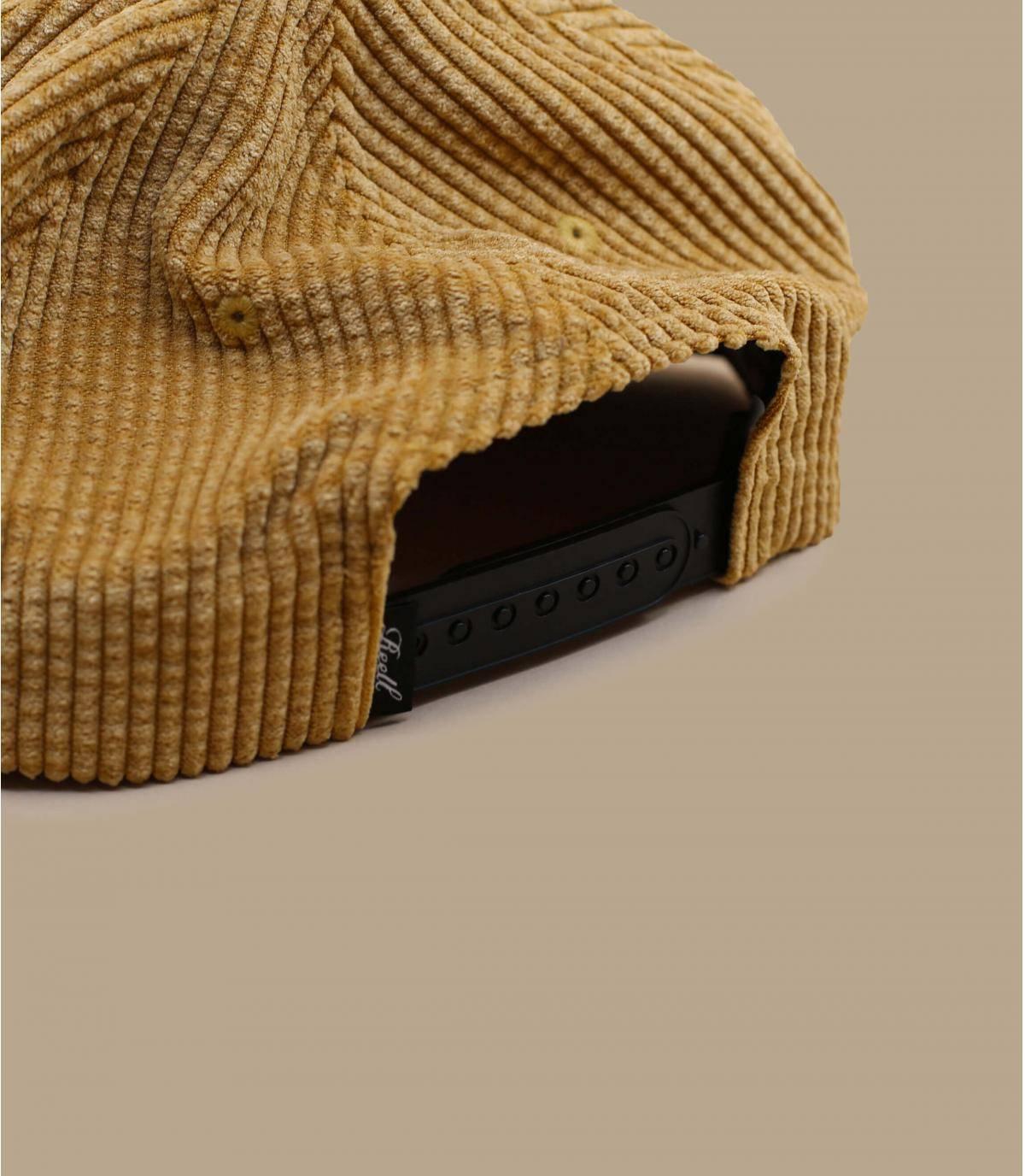 Dettagli Suede Cap Cord beige - image 4
