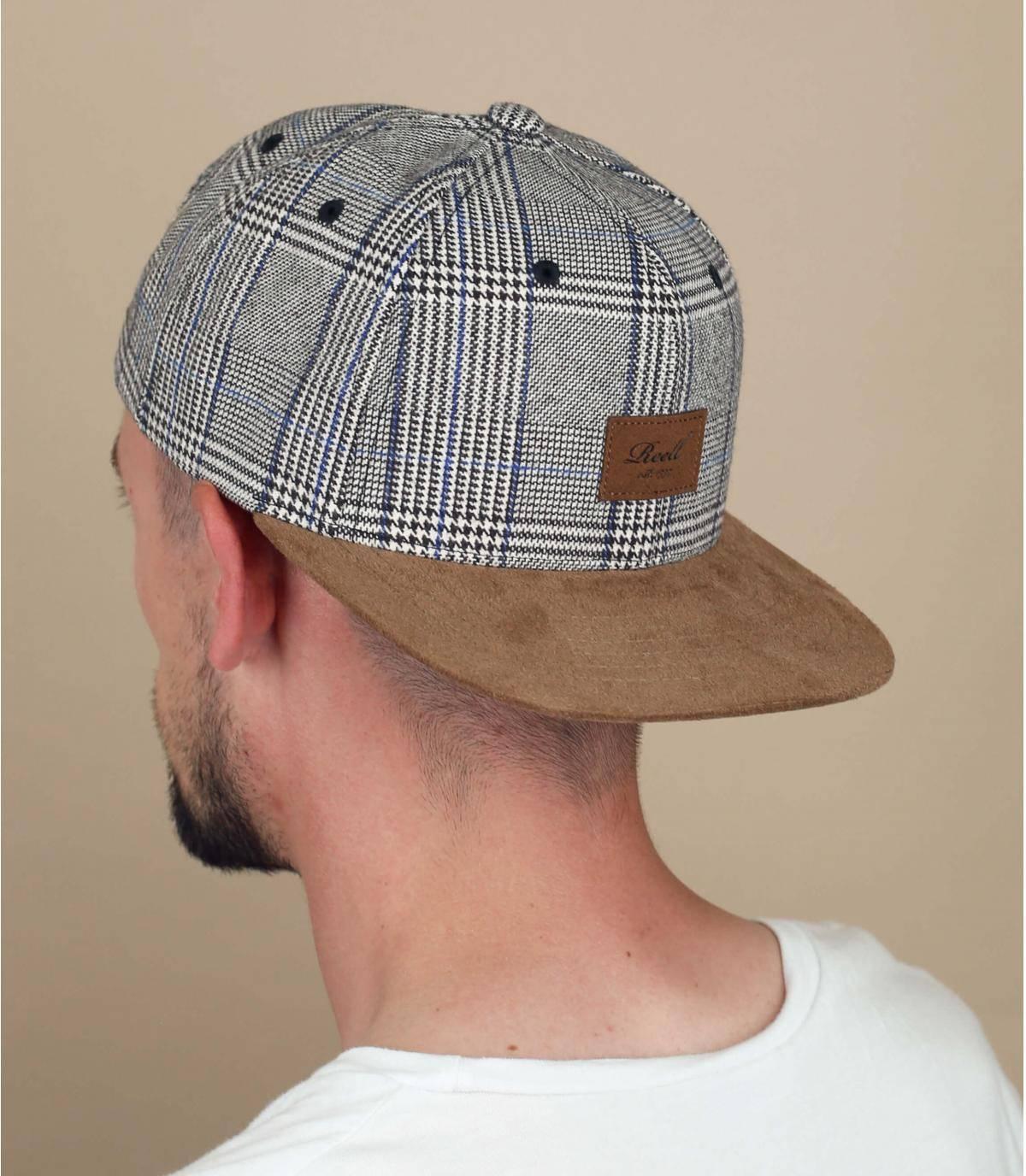 cappellino Reell a quadri