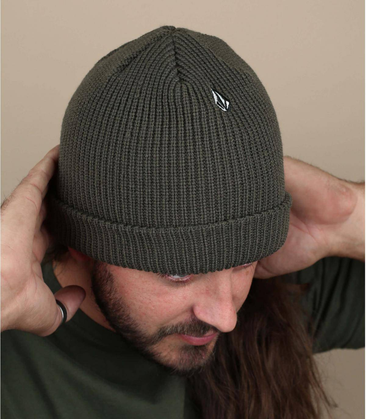 berretto verde Volcom