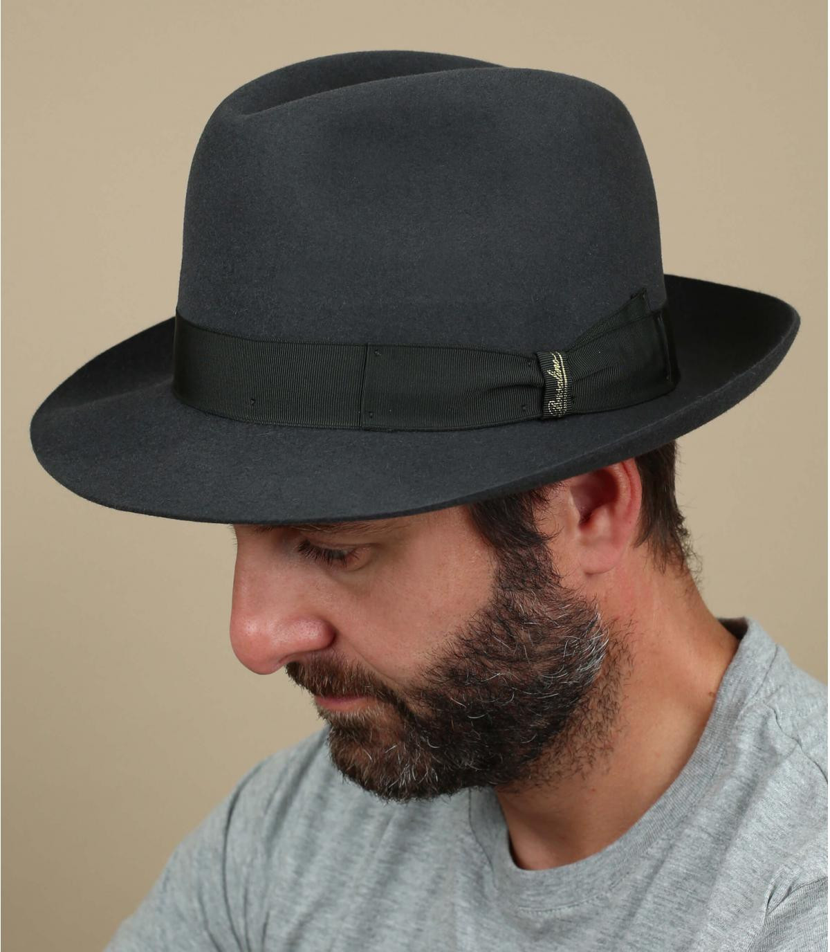 Marengo grey fur felt hat