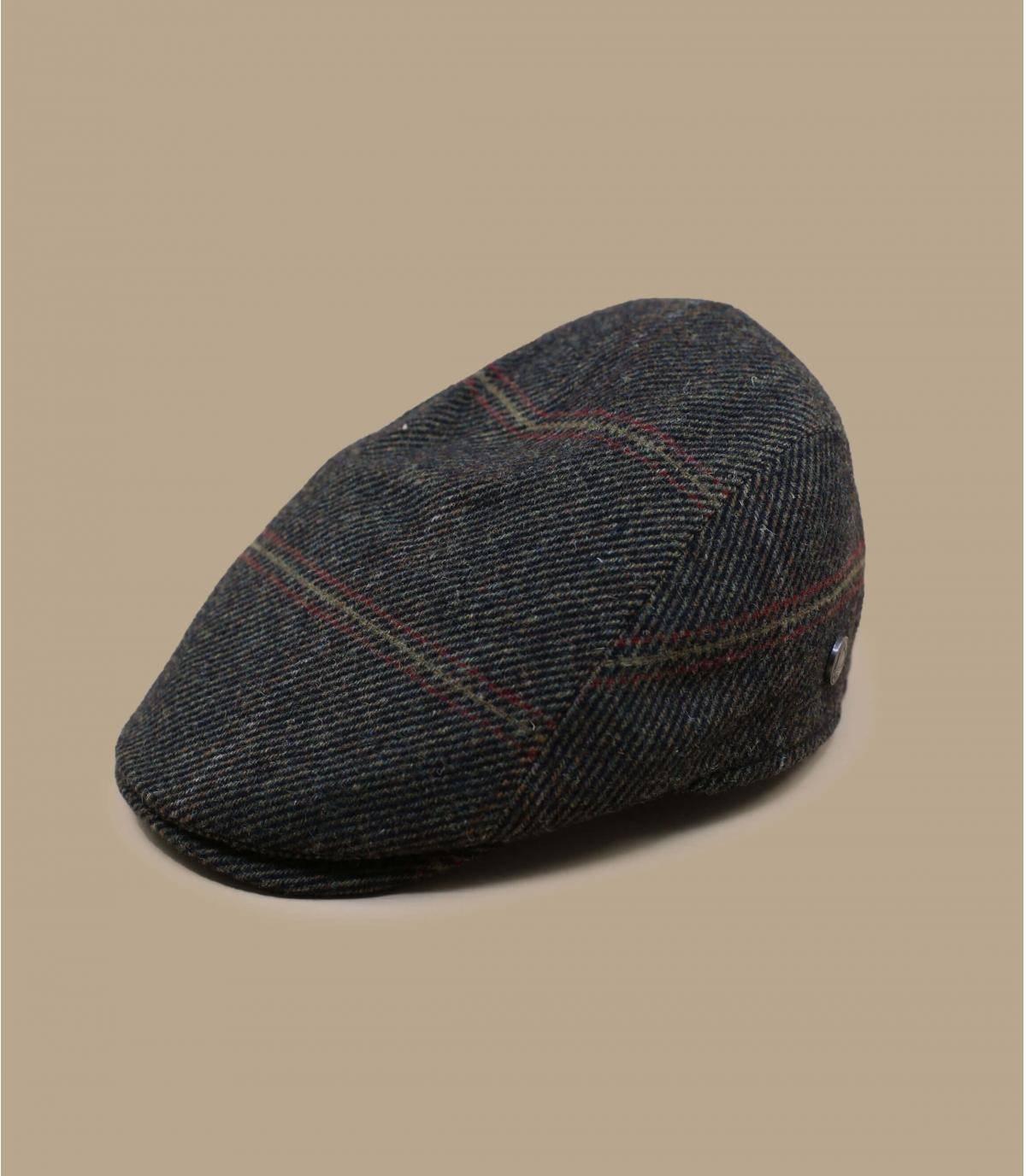 berretto lana verde