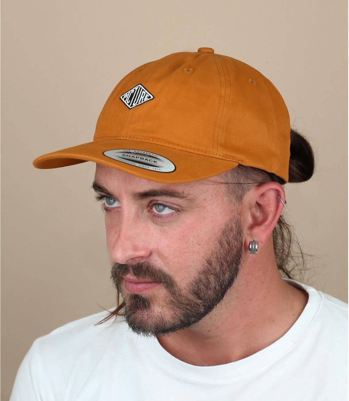 cappellino Picture giallo