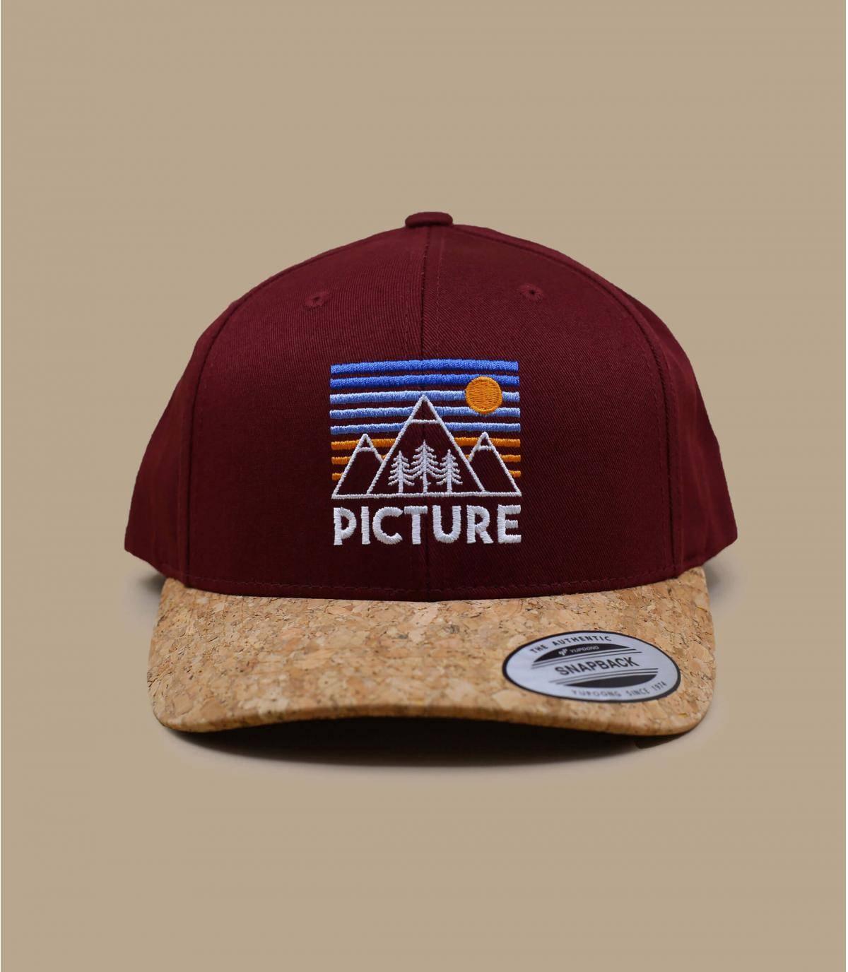 cappellino Picture rosso