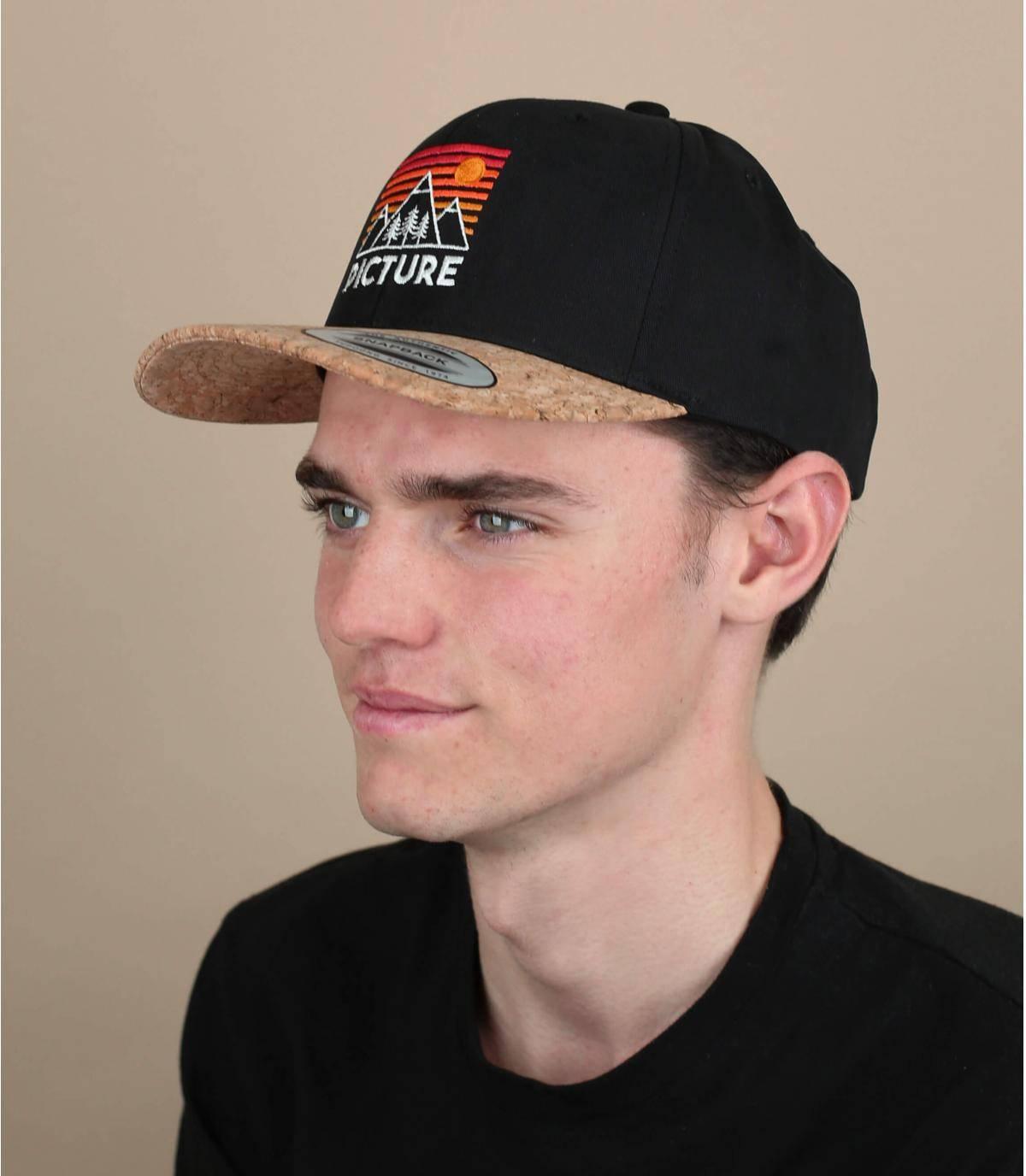 cappellino Picture nero