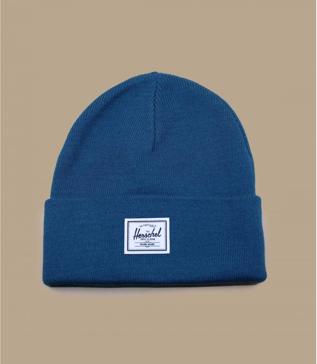 berretto blu Herschel