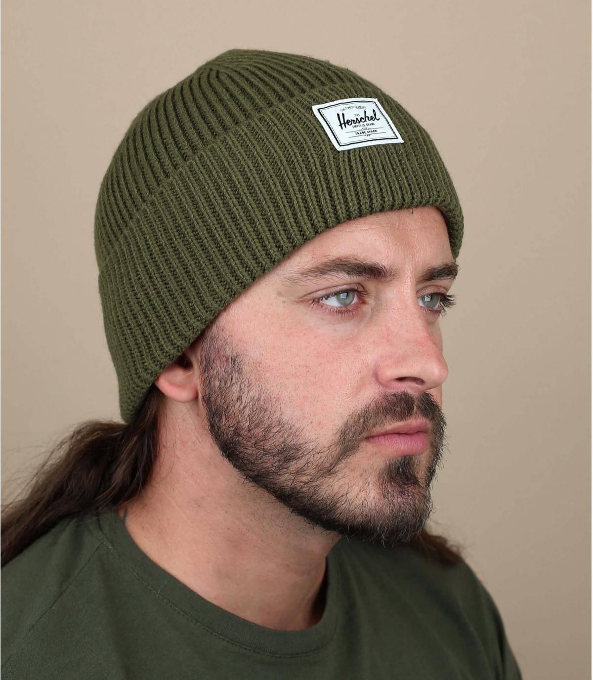 berretto docker verde