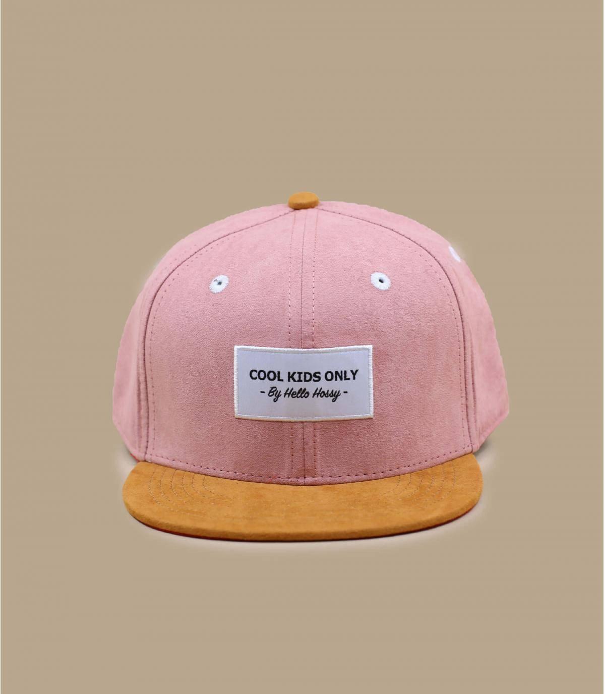 cappellino bambino/a rosa