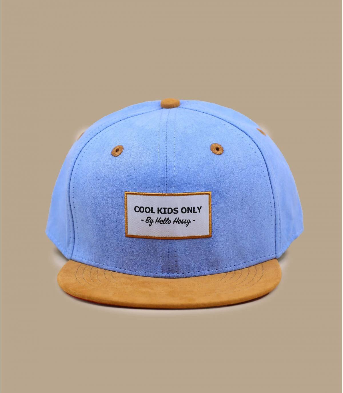 cappellino bambino/a blu